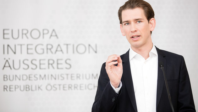Sebastian Kurz (Bild: APA/GEORG HOCHMUTH)