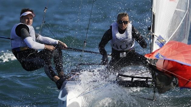 Zajac/Frank erobern erste Medaille f�r �sterreich (Bild: AP)