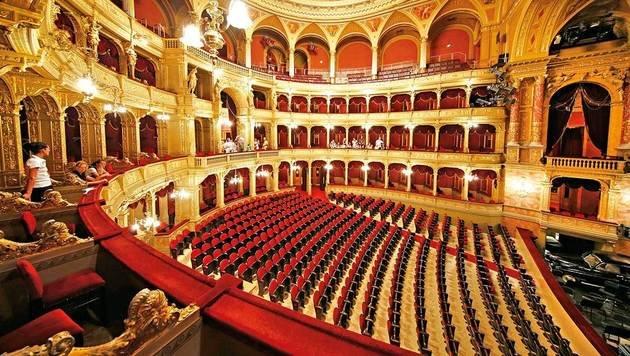 Die prunkvolle Budapester Oper (Bild: Reinhard Holl)