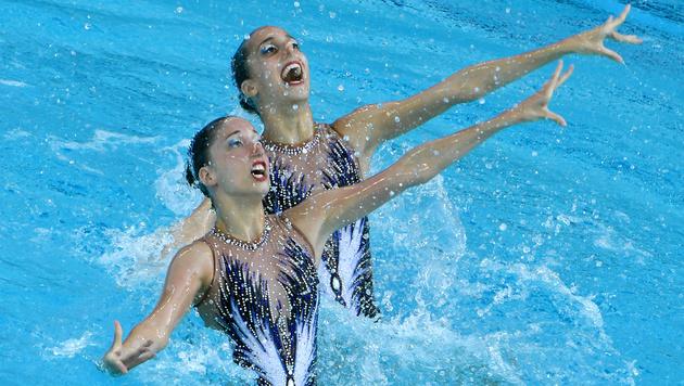 Alexandri-Schwestern im Duett Final-Zwölfte (Bild: APA/HANS KLAUS TECHT)