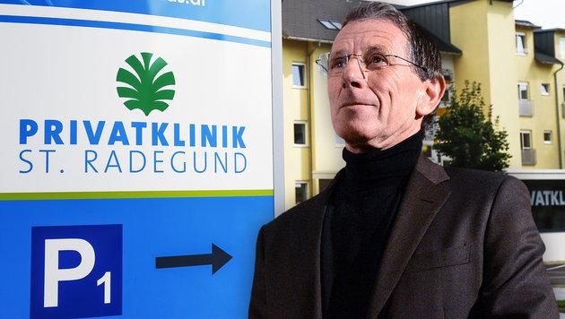 Ex-Lobbyist Hochegger in Privatklinik verhaftet (Bild: APA/Erwin Scheriau, APA/Helmut Fohringer)