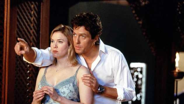 "Hugh Grant und Renee Zellweger in ""Bridget Jones"" (Bild: Viennareport)"