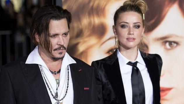 Johnny Depp und Amber Heard (Bild: APA/AFP/VALERIE MACON)