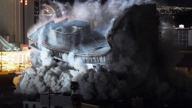 Legend�res Riviera-Casino in Las Vegas gesprengt (Bild: APA/AFP/Getty Images/Ethan Miller)