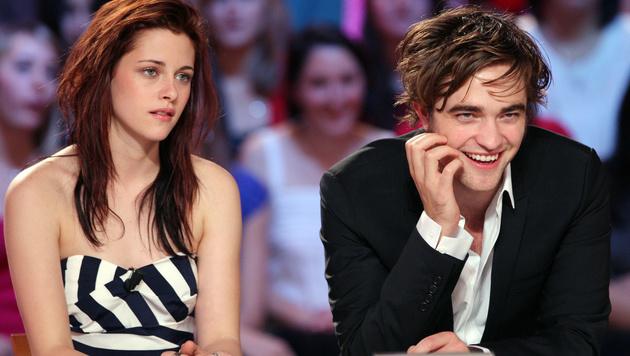 Kristen Stewart und Robert Pattinson (Bild: PATRICK KOVARIK/AFP/picturedesk.com)