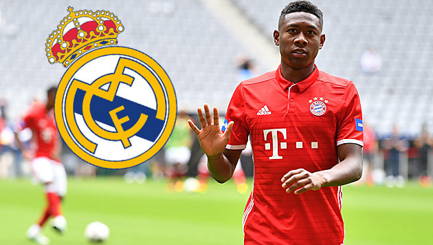 Wechsel zu Real? Das sagt Bayern-Star David Alaba (Bild: GEPA)