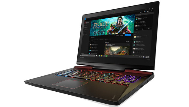 All-in-One, Cube, Laptop: Lenovos neue Gaming-PCs (Bild: Lenovo)