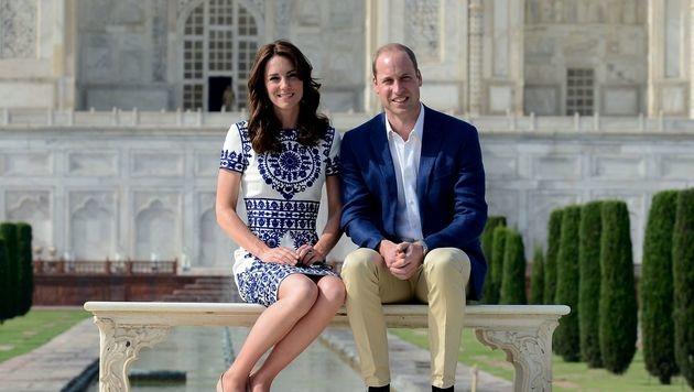 Prinz William wird einmal König werden. An seiner Seite darf man sich keinen Fehltritt erlauben. (Bild: AFP)