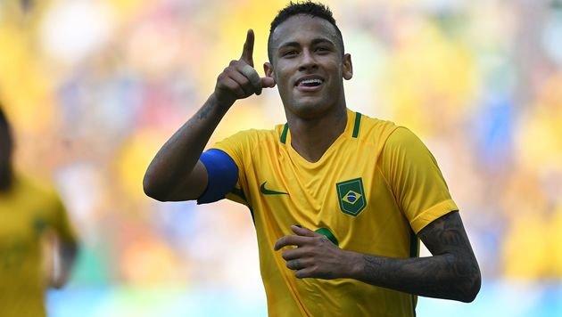 Brasiliens Chance auf erstes Fußball-Gold lebt (Bild: AFP)