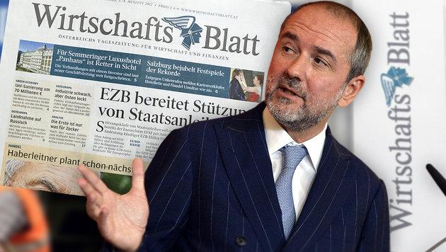Frische Steuermillionen für schwächelnde Presse (Bild: APA/Herbert Pfarrhofer, APA/Herbert Neubauer)