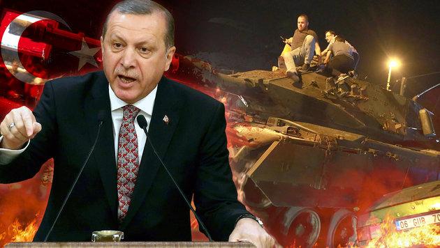 Nach Putsch: Erdogan lässt 38.000 Kriminelle frei (Bild: APA/AFP/Adem Altan, thinkstockphotos.de)