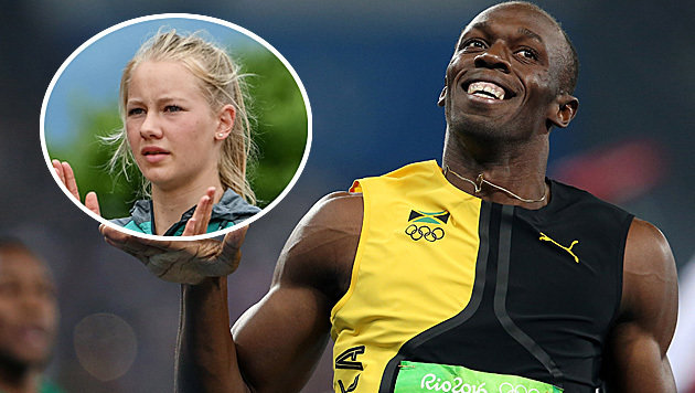 """Siebenkampf-Youngster Lagger: """"Bolt ist so cool!"""" (Bild: GEPA)"""