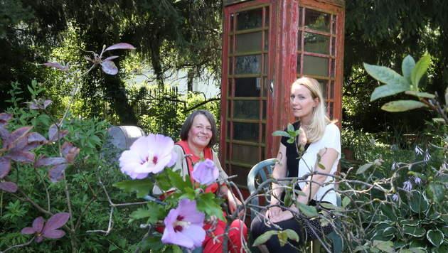 Ilona mit Brigitte Quint (Bild: Sepp Pail)