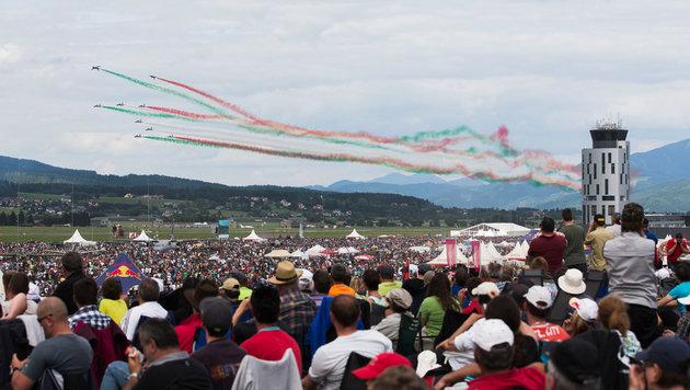 300.000 Fans stürmen die Flugvorführungen bei der Airpower in Zeltweg (Bild: Samo Vidic/Red Bull Content Pool)