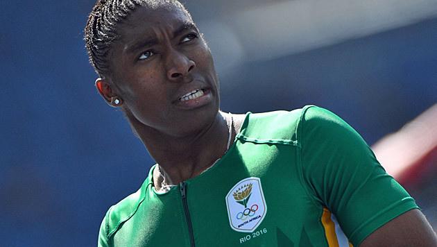 Intersexuelle Semenya geht auf Weltrekord los (Bild: APA/AFP/OLIVIER MORIN)