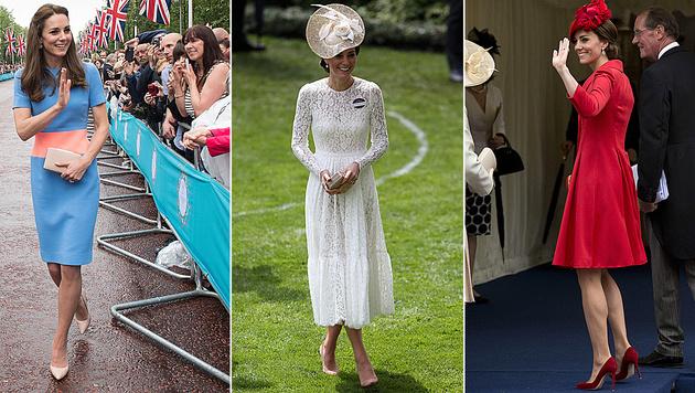 Was immer Kate in der Öffentlichkeit trägt, ist in den nächsten Stunden ausverkauft. (Bild: AFP)