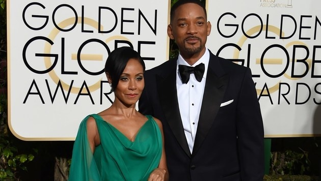 Jada Pinkett Smith und Will Smith (Bild: APA/AFP/VALERIE MACON)