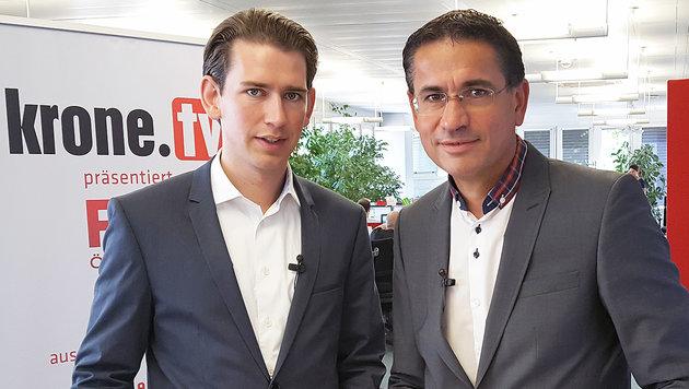 """Flüchtlinge: Job-Pflicht statt """"im Park sitzen"""" (Bild: krone.tv)"""