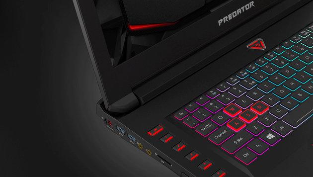 Acer verpasst Predator-Laptops GTX-1070-Power (Bild: Acer)