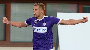 Austria spielt gegen Pilsen um Basis f�r Aufstieg (Bild: GEPA)