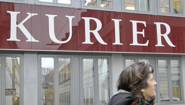 """""""Kurier"""" kündigt mindestens 15 Mitarbeiter (Bild: APA/Herbert Neubauer)"""