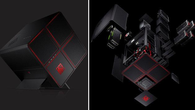 Omen X: HP enthüllt Hochleistungs-Würfel für Gamer (Bild: HP)