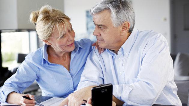 Pensionisten werden mit einem Bettel abgespeist (Bild: thinkstockphotos.de)
