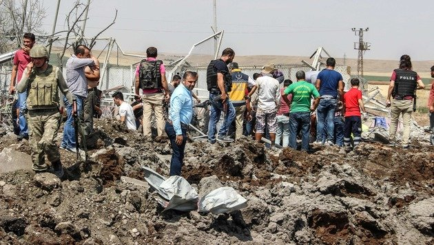 Türkei: Tote und Verletzte bei Bombenanschlag (Bild: AFP)