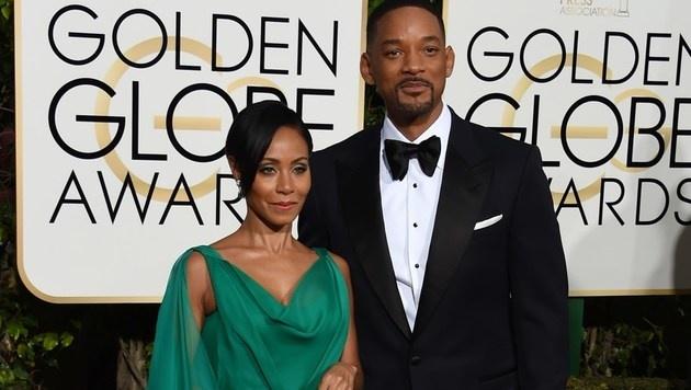 Jada Pinkett Smith und Will Smith (Bild: APA/AFP/VALERIE MACON)