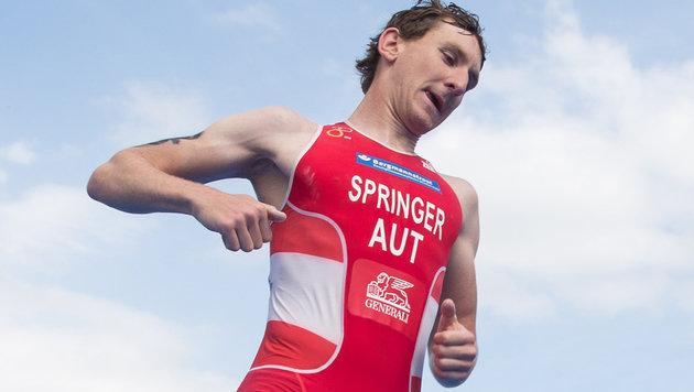 Österreichs Vertreter Thomas Springer (Bild: APA/EXPA/JOHANN GRODER)