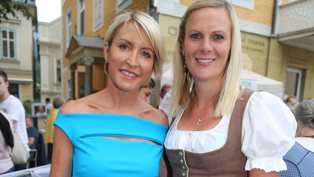Heather Mills und Hosp (Bild: Neumayr)