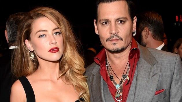 Amber Heard und Johnny Depp (Bild: AFP)