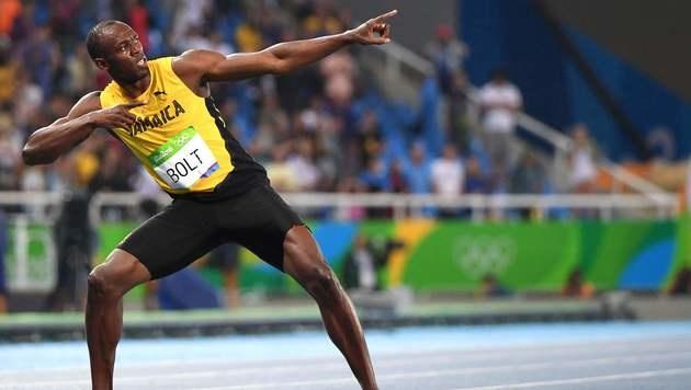Usain Bolt hat seine Mission erfüllt (Bild: AFP)