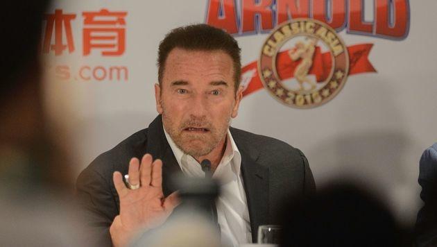 Arnold Schwarzenegger (Bild: APA/AFP/TENGKU BAHAR)
