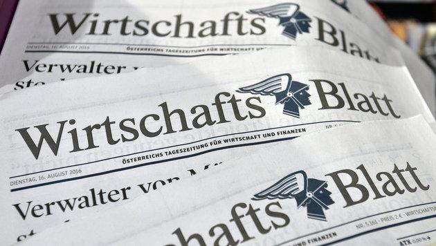 """7 Mio. Euro Styria-Zuschuss zu """"WirtschaftsBlatt"""" (Bild: APA/HANS PUNZ)"""