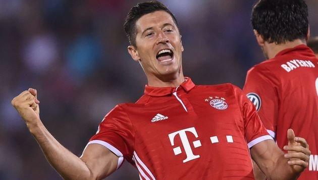 Bayern hoffen auf CL-Einsatz von Lewandowski (Bild: AFP)