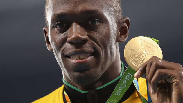 Gold-Bolt verzaubert Rio: Triumph auch über 200 m! (Bild: GEPA pictures)