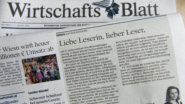 Styria prüft Anfragen von Interessenten doch (Bild: APA/HARALD SCHNEIDER)
