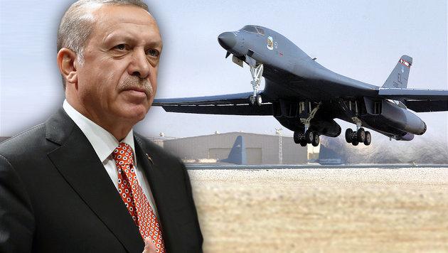 USA bringen Atomwaffen vor Erdogan in Sicherheit (Bild: AP, Wikipedia)