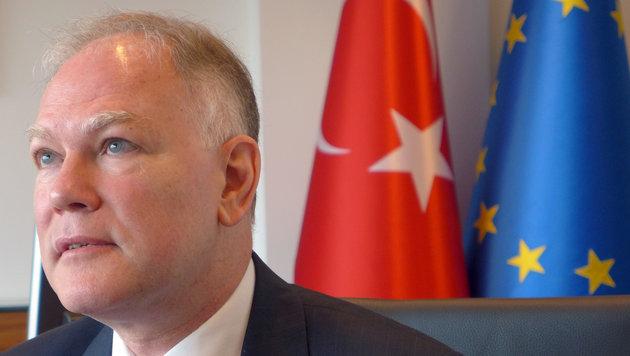 Türkischer EU-Botschafter Selim Yenel (Bild: ASSOCIATED PRESS)