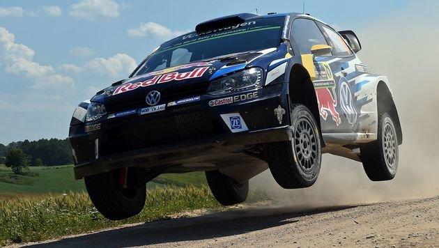 Volkswagen zieht sich aus Rallye-WM zurück (Bild: AFP)