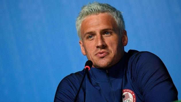 Anklage! Muss Ryan Lochte nun ins Gefängnis? (Bild: AFP)