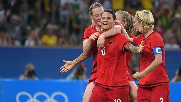 DFB-Frauen erobern erstmals Olympia-Gold (Bild: AFP)