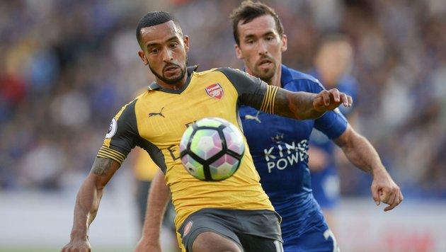 Fuchs & Leicester erreichen 0:0 gegen Arsenal (Bild: AFP or licensors)