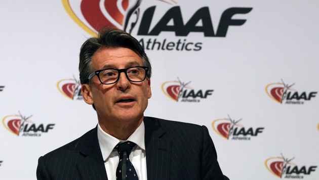 IAAF-Boss Sebastian Coe erhielt Morddrohungen (Bild: AP)