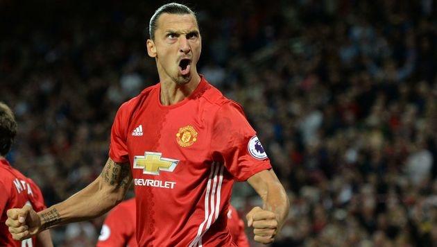 Manchester United siegt dank Ibrahimovic mit 2:0 (Bild: AFP)
