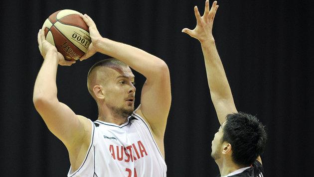Österreichs Basketballer siegen in Nervenschlacht (Bild: APA/HANS PUNZ)
