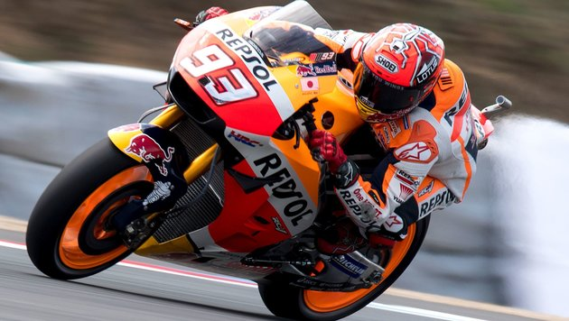 Rundenrekord! Pole für Spanier Marquez in Brünn (Bild: AFP)