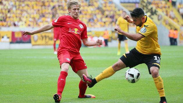 Sensation! Dresden wirft RB Leipzig aus DFB-Cup (Bild: GEPA)