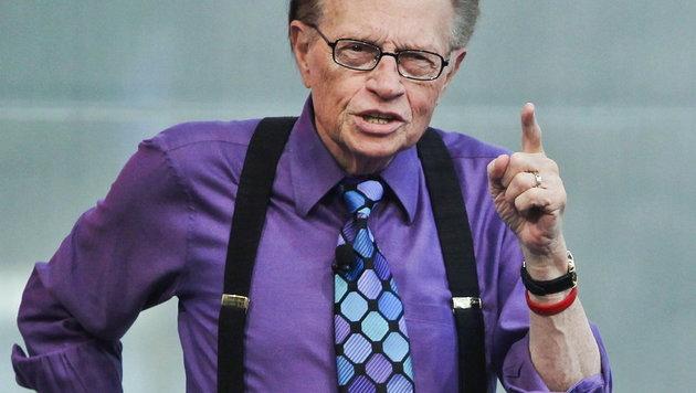 Ex-CNN-Star Larry King von Russen geschmiert (Bild: LUSA/Jose Sena Goulao)